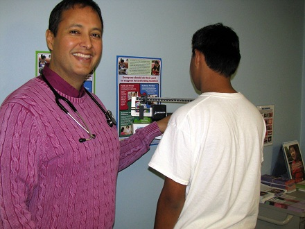 Jaime Ruiz MD with 17 yr old patient Dec 2013 - Copy